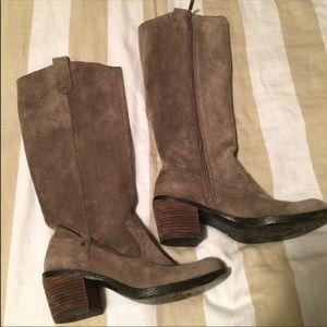 Nine West Genuine Suede Boots 6